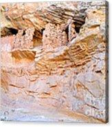Target - Bulls Eye Anasazi Indian Ruins Acrylic Print