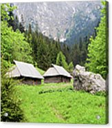 Tatra Mountains In Poland Acrylic Print