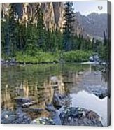 Taylor Lake, Banff National Park Acrylic Print