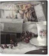 Tea And Gulliver Acrylic Print