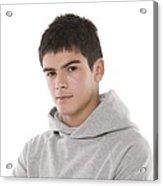 Teenage Boy Acrylic Print