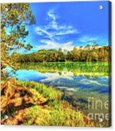 Telaga Warna Lake Acrylic Print