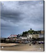 Tenby Harbour From North Beach 2 Acrylic Print