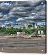 Tenby North Beach Acrylic Print