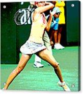 Tennis Art Acrylic Print