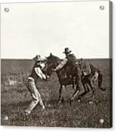 Texas: Cowboys, C1908 Acrylic Print