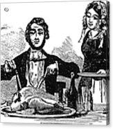 Thanksgiving, 19th Century Acrylic Print