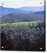 The Allegheny Front, North Fork Acrylic Print by Raymond Gehman