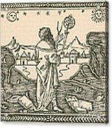 The Astrologer Albumasar Acrylic Print