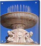 The Belle Isle Scott Fountain Acrylic Print