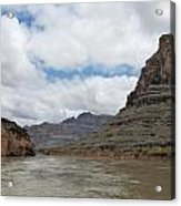 The Colorado River-a Grand Canyon Perspective II Acrylic Print