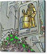 The Crutched Friar Public House Acrylic Print