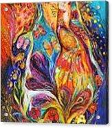 The Dance Of Butterflies Acrylic Print by Elena Kotliarker