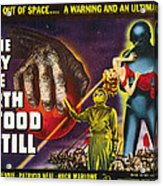 The Day The Earth Stood Still, 1951 Acrylic Print