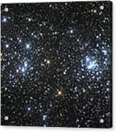 The Double Cluster, Ngc 884 And Ngc 869 Acrylic Print