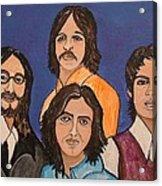 The Fab Four Beatles  Acrylic Print