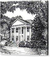 The Grove Tallahassee Florida Acrylic Print