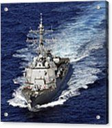 The Guided Missile Destroyer Uss Nitze Acrylic Print
