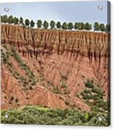 The Imlil Valley, Morocco Acrylic Print by Bob Gibbons