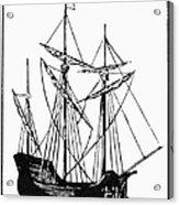 The Mayflower Acrylic Print