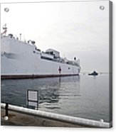 The Military Sealift Command Hospital Acrylic Print