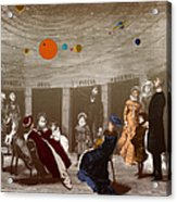 The New Planetarium In Paris, 1880 Acrylic Print