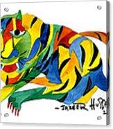 The New Tiger Acrylic Print
