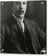 The New Zealand Born Physicist E. Rutheford Acrylic Print
