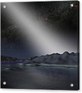 The Night Sky From A Hypothetical Alien Acrylic Print