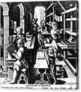 The Printing Of Books Acrylic Print