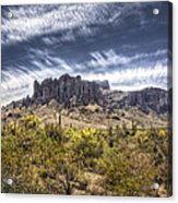 The Superstitions  Acrylic Print