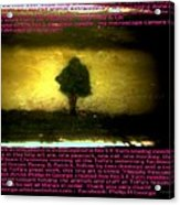 The Tree Of Hope Acrylic Print