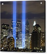The Tribute In Light Memorial Acrylic Print
