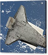 The Underside Of Space Shuttle Acrylic Print
