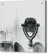 The View Acrylic Print