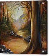 'the Walk' Acrylic Print