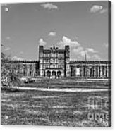 The West Virginia State Penitentiary Front Acrylic Print