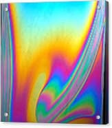 Thin Film Optical Interference Acrylic Print