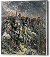 Third Crusade, 1191 Acrylic Print
