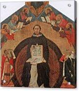Thomas Aquinas, Italian Philosopher Acrylic Print
