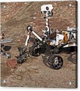 Three Generations Of Mars Rovers Acrylic Print