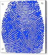 Thumbprint Acrylic Print