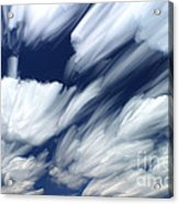 Time-lapse Clouds Acrylic Print