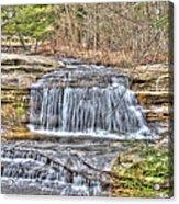 Top Of The Upper Falls Acrylic Print