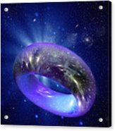Torus Universe, Artwork Acrylic Print