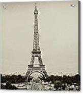 Tour Eiffel - Eiffel Tower Acrylic Print by Ruy Barbosa Pinto