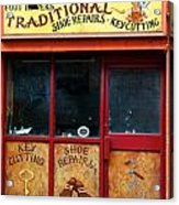 Traditional Ireland Acrylic Print