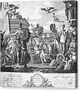 Treaty Of Ghent, 1814 Acrylic Print