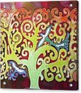 Kazaksha Tree Of Life Acrylic Print