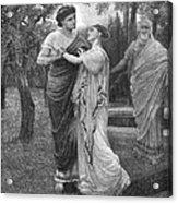 Troilus And Cressida Acrylic Print